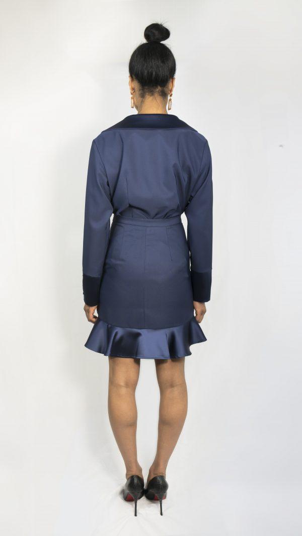 Sapphire Skirt Coordinate 'back view'