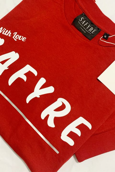 red safyre tee