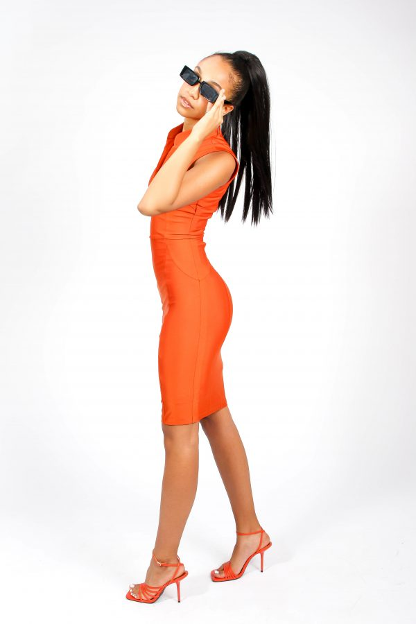 Topaz Midi Dress